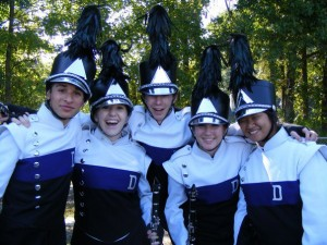 Marching band programs build musical skills as well as strong friendships
